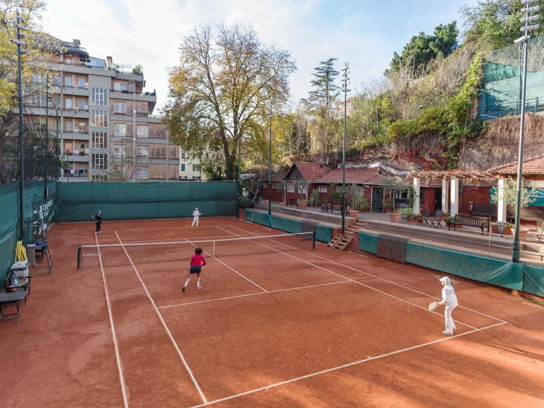 <Campo da tennis - Tennis Club Genova