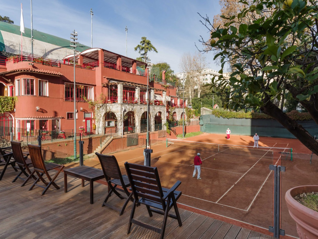 <Campi da Gioco tennis Club Genova