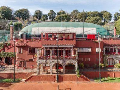 Esterno Sede Tennis Club Genova