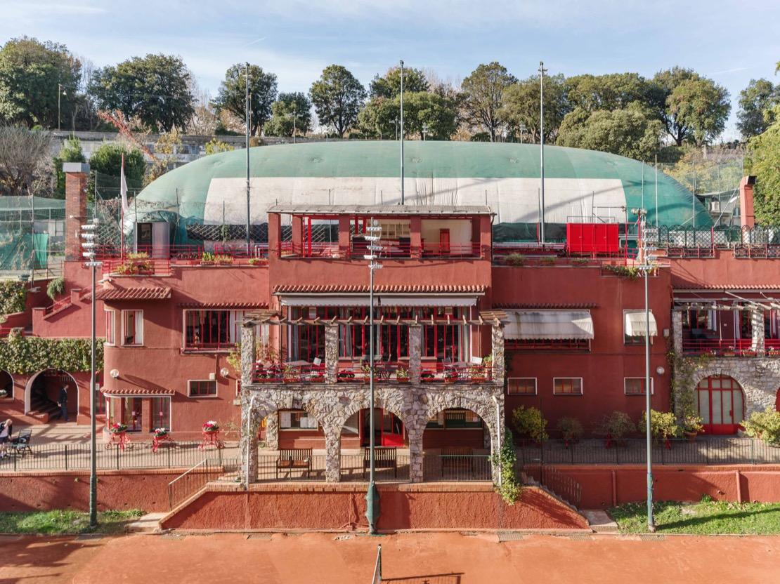 <Esterno Sede Tennis Club Genova