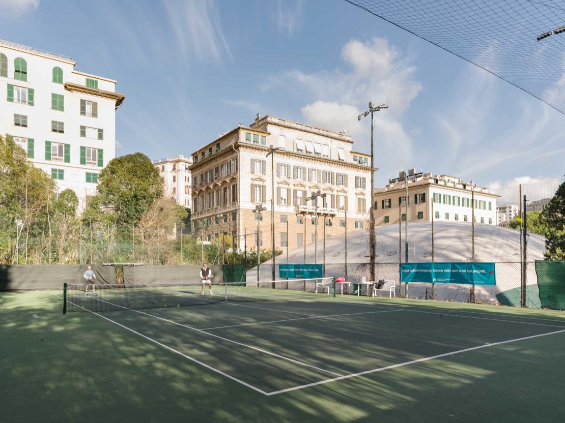 <Tennis Club Genova Campo da tennis green set