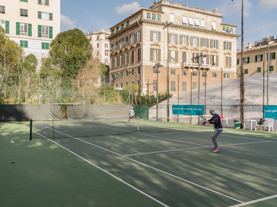 <Tennis Club Genova Campo da gioco green set