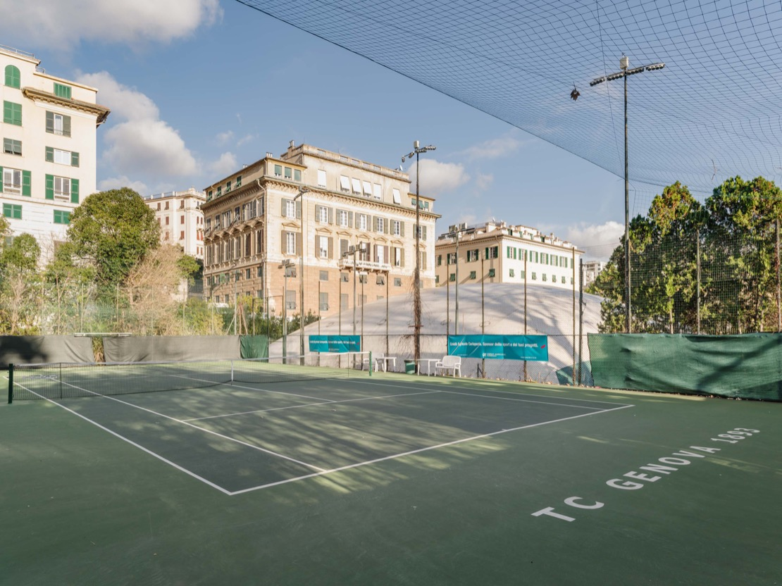 <Campo green set Tennis Club Genova