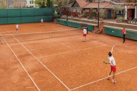 Scuola tennis del Tennis Club di Genova