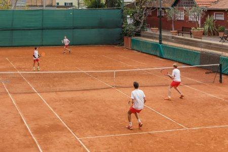 Campo da tennis in terra rossa Tennis Club Genova
