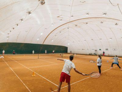Campo coperto tennis Club Genova