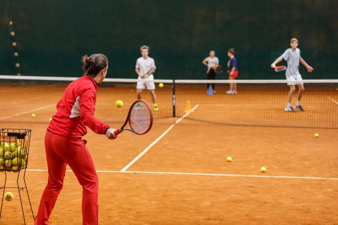 <Tennis Club Genova Campi Coperti