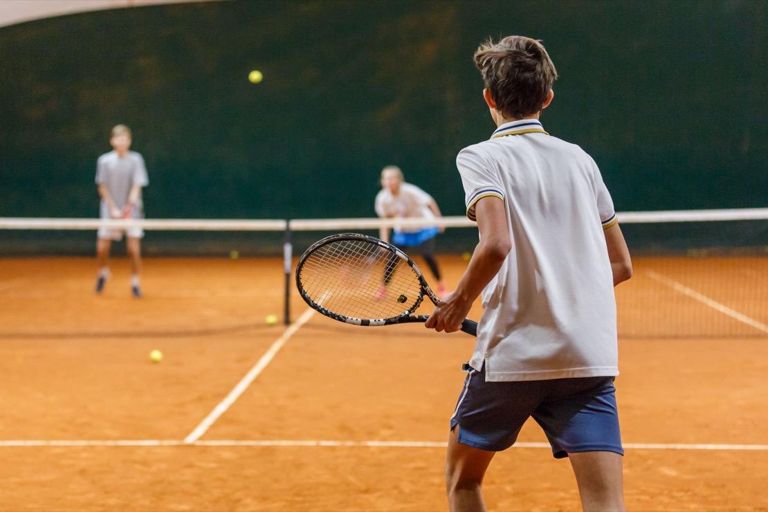 <Campi da gioco coperti inverno Tennis Club Genova