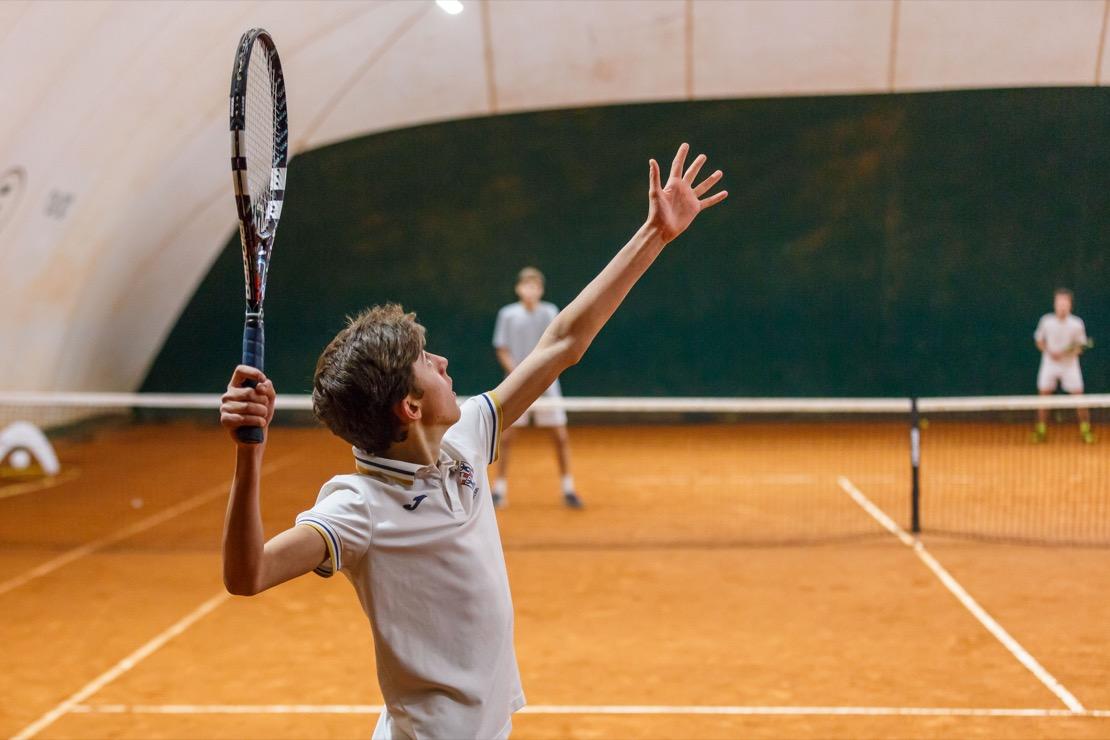 <Campi da gioco coperti Tennis Club Genova