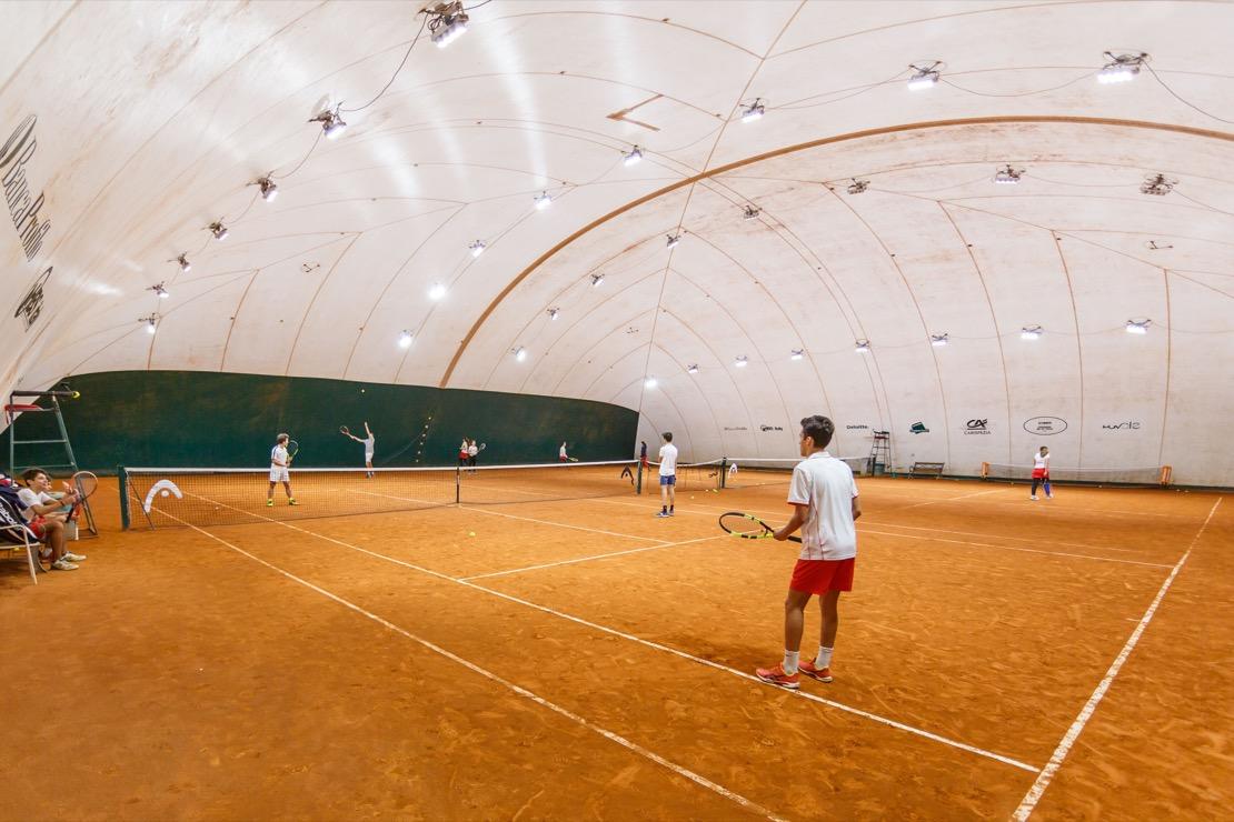 <Tennis Club Genova Campi da tennis Coperti