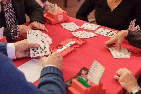 Tavoli gioco carte Tennis Club Genova