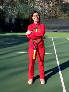 CAROSINI FEDERICA Maestro Scuola Tennis - Tennis Club Genova